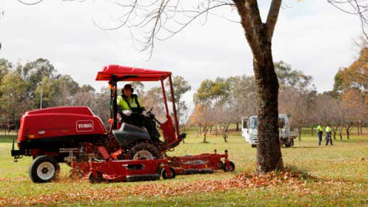 Canberra wide mowing program